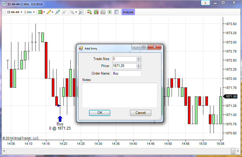 Backtesting NinjaTrader